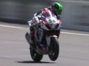 WSBK 2014 Phillip Island Race 1 Highlights - Sieg für Suzuki