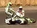 WSBK Hockenheim 1990 Race 1 - Merkel und Fallapa geben es sich!