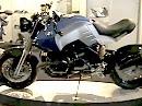 Wunderlich auf der Motorräder Dortmund mit dem BMW-Speedcruiser