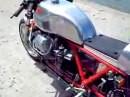 Wunderschöne Moto Guzzi GT umgebaut als Cafe Racer