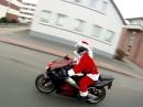 X-Mas Ride 2013 - 20 Weihnachtsmänner auf rasenden Rentieren