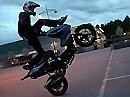Yamaha Aerox Stunting Andreas Gustafsson - Great Job!