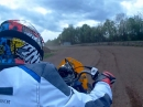 Yamaha FZ 750 Sidecar Speedway - Fahrer 75 Jahre alt