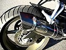 Yamaha FZ1 Fazer with Creptus Exhaust