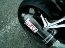 Yamaha FZ1 Fazer with Yoshimura exhaust