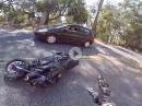 Yamaha FZ10 Crash: Wheelie, Kurve ausgegangen, Abflug aber warum?
