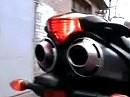 Yamaha FZ6 Fazer PRC Exhaust sound check