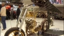 Yamaha in den Seilen Kunstbike