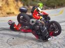 Yamaha MT-07 Crash - Schreckbremsung ohne ABS geht in den Dreck