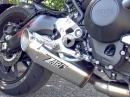 Yamaha MT-09 (Euro 4) mit Zard 3in1 Full Kit Auspuffanlage