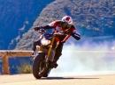 Yamaha MT-09 gemeuchelt von Duke Acrobatie - so muss das!