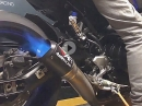 Yamaha MT-09 mit Austin Racing Auspuffanlage (DE-CAT)