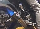Yamaha MT-09 mit Austin Racing Auspuffanlage (DE-CAT)