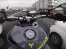 """Yamaha MT-09 Autobahn Powerwheelie und ein bisschen mit der """"Rente spielen"""""""