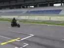 Yamaha MT-09, Shark Street GP ohne DBKiller - Quali besch. Sound geil