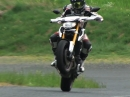 Yamaha MT-09 Street Rallye - gaskranker Test Trash - Moto Journal halt