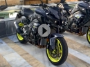 Yamaha MT-10 Launch in Spanien via MCN - walk around