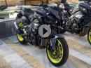 Yamaha MT-10 Launch in Spanien via MCN - walk around