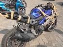 Yamaha nach Crash: Ein bisschen Tape wird es richten