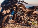 Yamaha Niken - total normal?! Kraftrad hat das Dreirad in Spanien getestet