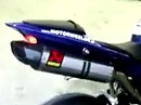 Yamaha R1 2009 Akra Evo full exhaust