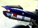 Yamaha R1 2009 Akra Evo full exhaust