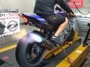 Yamaha R1 (2015) AutoBlip Quickshifter am Dyno durchgeladen