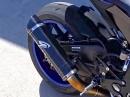 Yamaha R1 (2015) mit Graves Motorsports Auspuffanlage