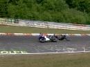 Yamaha R1 Crash Nürburgring Nordschleife übers Vorderrad