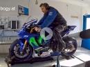 Yamaha R1 Dyno Motorrad Bogoly - Boxen auf und alles wird gut!
