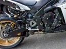 Yamaha R1 RN22 Side Pipe (Eigenbau)