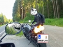 Yamaha R1 RN22 Akrapovic: a little bit of sound and flames