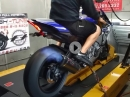 Yamaha R1 RN32 Dynorun with auto-blip quickshifter