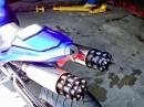 Yamaha R1 - Tailgunner Gatling Gun Exhaust - Django lässt grüßen