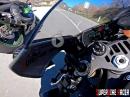 Yamaha R1M mit Akrapovic Soundtrack, Suzuki GSXR 600, Honda CBR 600