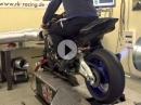 Yamaha R1M - Prüfstandslauf by RK-Racing - extrem laut!