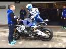 Yamaha R1M und Sylvain Guintoli SBK Test Portimao - Sound Hammer