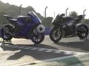 Yamaha R1und Yamaha R1M, Modelljahr 2020 ausprobiert von Jens Kuck