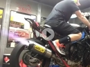 Yamaha R6 / Arrows Auspuff am Dyno - Soundcheck