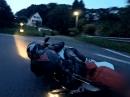 Yamaha R6 auf Sailvideosystem und Gyro - Hammer Perspektive