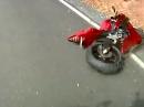 Yamaha R6 Crash - zu schnell war er nicht?! Kalte Reifen?
