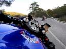 Yamaha R6 laufen lassen - Soundtrack: Akrapovic full race system - Bäämm