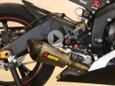 Yamaha R6 mit Akrapovic Conical Titanium Full Exhaust - Soundcheck