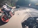 Yamaha R6 onboard Akrapovic Full Race Sytem