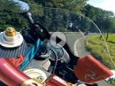 Yamaha R6: Schräg, schnell, steil - High Speed Chase Hausstrecke Murtanio