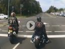 "Yamaha R6 vs Harley Ampelstart: ""Du wolle Renne fahre?"""