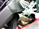 Yamaha R6 with Akrapovic exhaust
