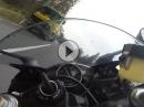 Yamaha R6 zügig in den April geschickt - Stotzinger Berg