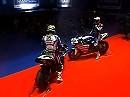 Yamaha Sterilgarda 2010 WSB Team Launch Racebike Launch