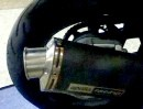 Yamaha TDM 850 mit Aprilia RSV Mille Auspuff